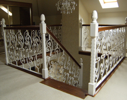 Ornate Hand Rail